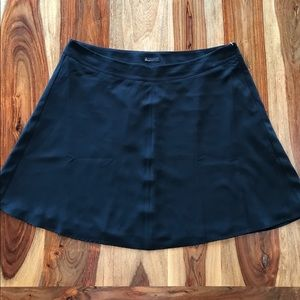 Lane Bryant black A-line skirt - 20
